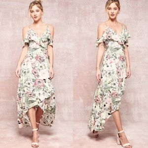 KYLIE Hello Spring Floral Maxi
